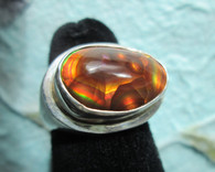 Mexican Fire Agate #5 ( Size 8 1/2)
