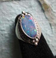 Lightning Ridge Opal Doublet #2 (Size 7)