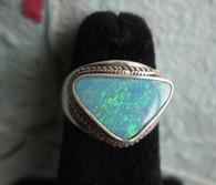 Lightning Ridge Opal Doublet #4 (Size 7 1/2)