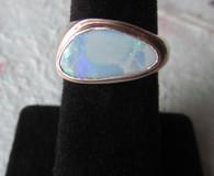 Lightning Ridge Opal Doublet #14 (Size 9)