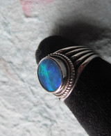 Edit a Product - Lightning Ridge Opal Doublet #17 (Size 8 1/2)