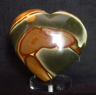 Polychrome Jasper Heart shape  #7-SOLD