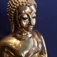 Thai Brass Sukhothai Buddha Statue