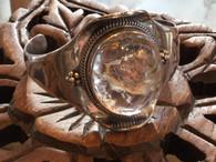 Garden Quartz Bracelet set in Sterling Silver 75 grams