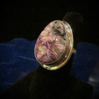 Sugilite Ring Size 9 3/4