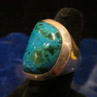 Chrysocolla Ring Size 7(sold)