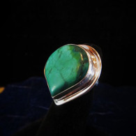 Large Turquiouse Ring Size 7 3/4(sold)