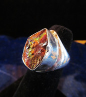 Mexican Fire Agate Size 7 1/4