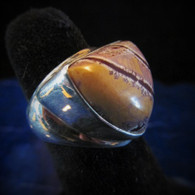 Agate Ring Size 8