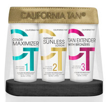 California Tan Sunless Travel Sized Trio Kit