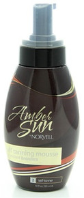 Norvell Amber Sun Sunless Mousse-new packaging