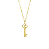 Tiny Classic Key Necklace