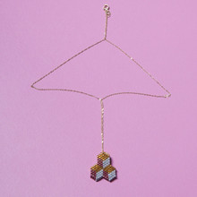 Tumbling Blocks Pendant - Staff