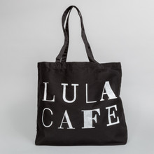 Lula 1999 White on Black Bag