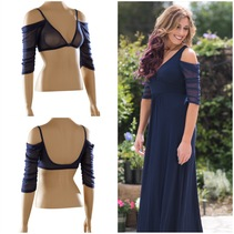 Waterfall 1/2 Sleeve Navy Mesh Sleevey Wonders