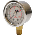 Outlet Gauge, 0 to 300 psi, Glycerin Filled
