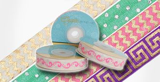 Shop Printed Fold Over Elastic