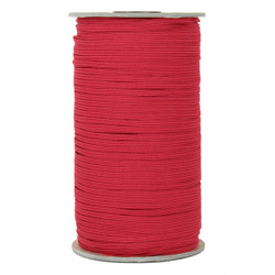 "Red Skinny Elastic 1/8"" 288 Yard Roll"