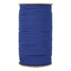 "Royal Blue Skinny Elastic 1/8"" 288 Yard Roll"