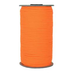 "Neon Orange Skinny Elastic 1/8"" 288 Yard Roll"