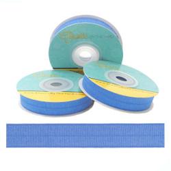 "Antique Blue 5/8"" Fold Over Elastic"