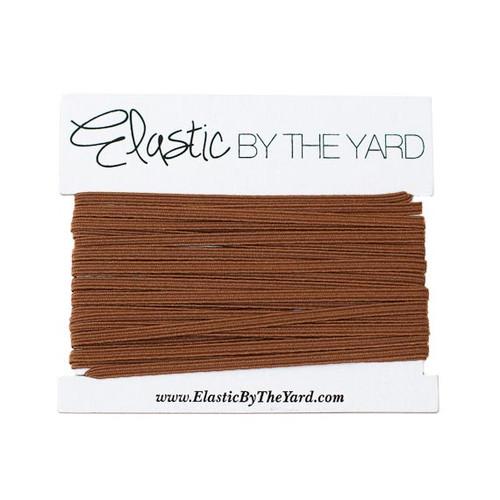 Chocolate Brown Skinny Elastic