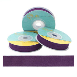Deep Plum Fold Over Elastic