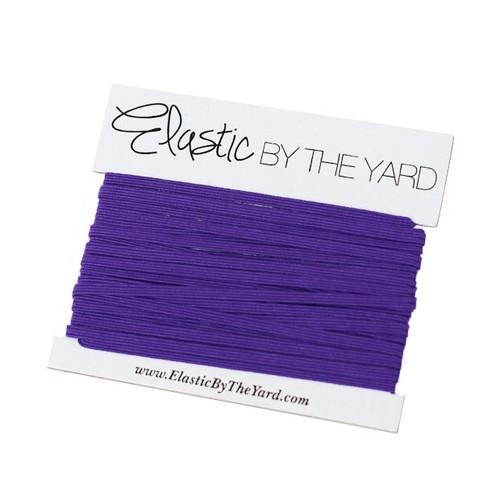Purple Skinny Elastic