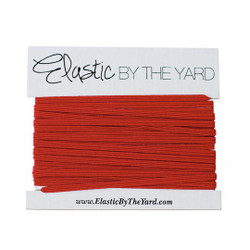 Red Skinny Elastic