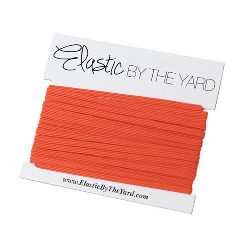 Orange Skinny Elastic