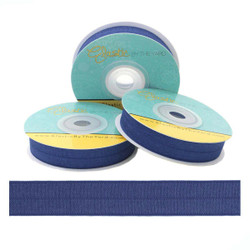 Navy Fold Over Elastic