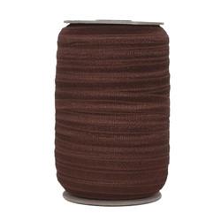 Dark Brown Wholesale Fold Over Elastic 100yd