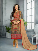 Classy & Elegant Multi Colored Cotton Satin Primium Suit