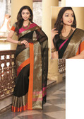 Elegant & Colorful Black Colored Art Silk Designer Saree