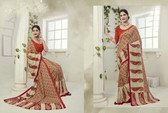 Attractive & Graceful Multi Colored Fancy Art Silk Premium Saree