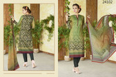 Stylish & Timeless Light Green Colored Cotton Lawn Salwar Suit