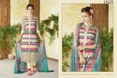 Stylish & Timeless Cream Colored Cotton Lawn Salwar Suit