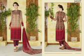 Stylish & Timeless Rust Colored Cotton Lawn Salwar Suit