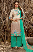 Vibrant & Stylish Multi Colored Rayon Modal Trendy Suit