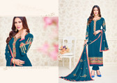 Charming & Elegant Blue Colored Georgette Suit