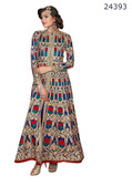 Fascinating & Timeless Blue Colored Georgette Salwar suit