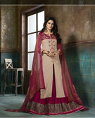Enchanting & Lively Light Pink colored Pure Cotton Printed Suit