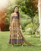 Vibrant & Irresistible  Peige multi Colored Designer Semi Stitched Salwar Suit