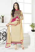 Incredibly Charming Dark Mahendi Color Georgette Suit