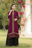 Beautiful & Elegant Magenta Color Georgette Kurti