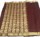 Exclusive Coffee Color Dhakai Banarasi Saree