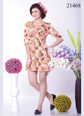 Stylish & Cool Off White Colored Crepe Kurti