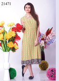 Stylish & Cool Beige Colored Viscose Georgette Kurti