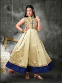 Stylish Trendy   Tafeta Silk  Banasrasi Jecard  Readymade Girl Gown D1022018400