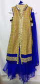 Stylish PremiumBlue Color Net Georgette Lehenga 200617931